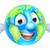 világ · földgömb · karakter · rajz · remek · öreg - stock fotó © krisdog