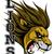 mérges · oroszlán · fej · kabala · sportok · fogak - stock fotó © krisdog