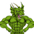 tough dragon mascot stock photo © krisdog