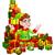 cartoon gifts elf stock photo © krisdog