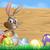 easter bunny background sign stock photo © krisdog
