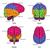 cervello · umano · organo · anatomia · diagramma · colorato - foto d'archivio © krisdog
