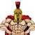 résistant · trojan · spartan · gladiator · musculaire · mascotte - photo stock © krisdog