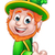 leprechaun st patricks day cartoon mascot stock photo © krisdog