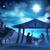 karácsony · jelenet · keresztény · baba · Jézus · sziluett - stock fotó © krisdog