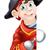 amigável · desenho · animado · pirata · assinar · ilustração - foto stock © krisdog