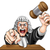 человека · судья · иллюстрация · сердиться - Сток-фото © krisdog