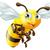 cartoon bee stock photo © krisdog