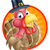 cartoon thanksgiving turkey stock photo © krisdog