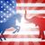 republicano · elefante · bandeira · político · festa · américa - foto stock © krisdog