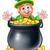 聖パトリックの日 · 帽子 · クローバー · eps · 10 - ストックフォト © krisdog