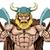 mean viking axe warrior stock photo © krisdog