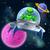 alien ufo flying saucer in space stock photo © krisdog