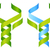dna · holistische · geneeskunde · illustratie · omhoog · bladeren - stockfoto © krisdog