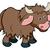 cartoon yak animal character stock photo © krisdog