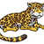cartoon jaguar cat stock photo © krisdog