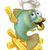 chef · poissons · mascotte · illustration - photo stock © krisdog