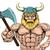 viking warrior sports mascot stock photo © krisdog