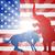 демократ · ослом · республиканский · слон · талисман · выборы - Сток-фото © krisdog