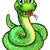 engraçado · serpente · desenho · animado · feliz · diversão · boca - foto stock © krisdog