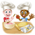 főz · gyerekek · - · gyermek · szakács · fiú - stock fotó © krisdog