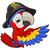 karikatür · korsan · papağan · kuş · karakter · maskot - stok fotoğraf © krisdog