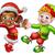 クリスマス · 少年 · 少女 · かわいい · 小 - ストックフォト © krisdog