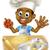 rajz · szakács · kalap · vektor · mosoly · terv - stock fotó © krisdog