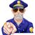 cartoon police man pointing stock photo © krisdog