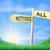 право · решение · зеленый · дорожный · знак · иллюстрация - Сток-фото © krisdog
