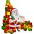 rajz · mikulás · tekercs · mikulás · karácsony · lista - stock fotó © krisdog