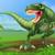 Cartoon · динозавр · из · готовый · животного - Сток-фото © krisdog
