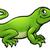 cartoon · groene · leguaan · dier · karakter · illustratie - stockfoto © krisdog