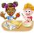 Cartoon · детей · приготовления · мальчика · девушки · дети - Сток-фото © krisdog
