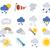 hava · durumu · yüksek · düzenlenebilir · genel · harita - stok fotoğraf © krisdog