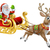 santa christmas sleigh sled stock photo © krisdog