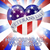 armado · soldados · bandeira · silhuetas · bandeira · americana · arte - foto stock © krisdog