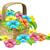 bloem · mand · gelukkige · verjaardag · wenskaart · geschenk - stockfoto © krisdog