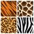 animal print seamless patterns stock photo © krisdog