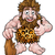 cartoon caveman stock photo © krisdog