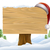 christmas santa hat snow sign stock photo © krisdog