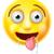 drooling emoji emoticon stock photo © krisdog