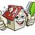 agent · immobilier · pouce · up · permanent - photo stock © krisdog