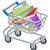 shopping trolley books stock photo © krisdog