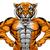 strong tiger sports mascot stock photo © krisdog