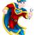 werknemer · loodgieter · vliegen · cartoon - stockfoto © krisdog