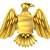 Águia · emblema · pintura · voar · branco · desenho - foto stock © krisdog