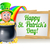 happy st patricks day leprechaun sign stock photo © krisdog