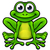 frog cartoon character stock photo © krisdog