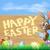 весны · текста · Пасху · кролик · шаблон · цифровой · композитный - Сток-фото © krisdog